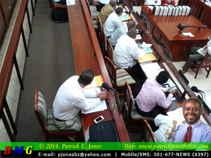 Hon. Elvin Penner isolated in the House of Representatives