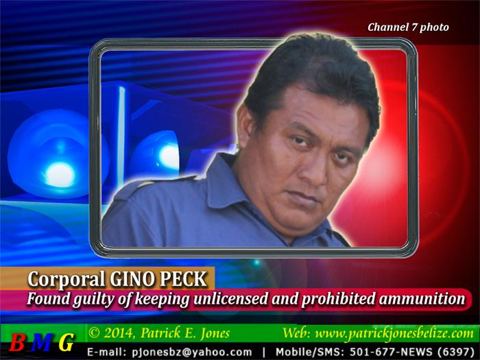 Corporal Gino Peck