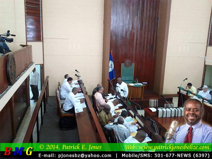 House of Representatives meeting