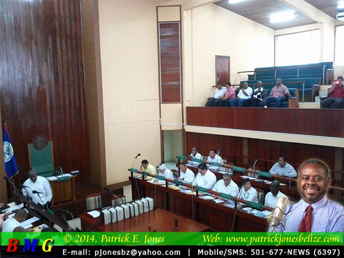 House of Representatives Meets in Belmopan