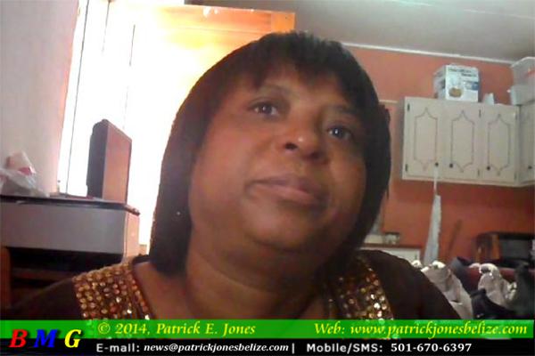Loretta Peck (Wife of Cpl. Gino Peck)