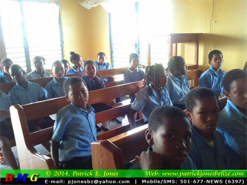 St. Hilda School students