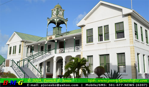 Belize Supreme Court Building (Archive photo)
