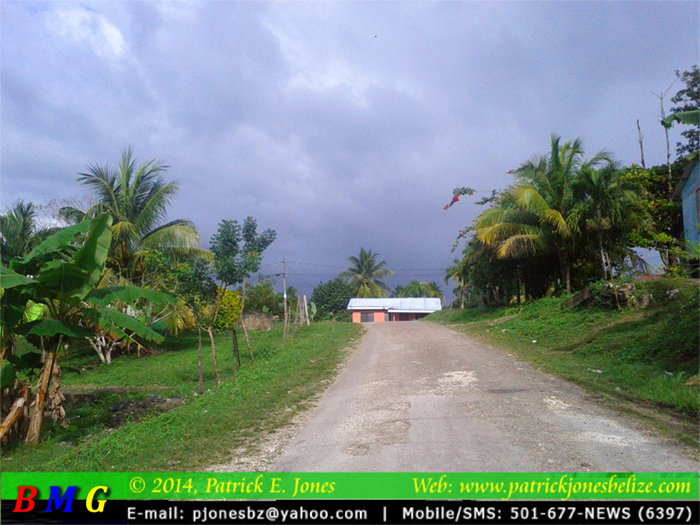 Changes in the weather (Georgeville, CAYO)