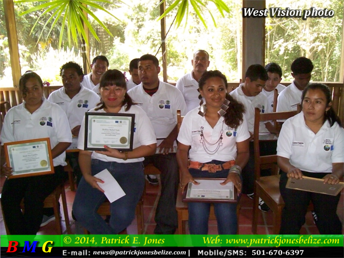 Belize Botanical Gardens graduation