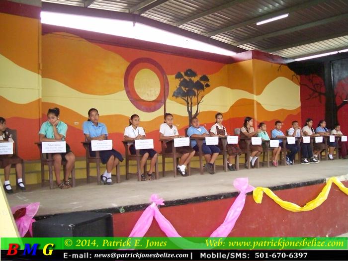 Spelling Bee contestants (Benque Viejo del Carmen