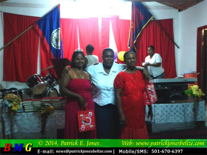 Emily Budna & Josephine Tucker (Georgeville Home League Members)