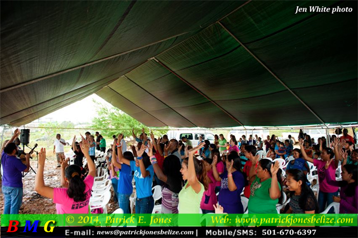 LifeNet church service (Belmopan)