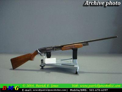 Pump Action 12-Gauge Gun (Archive Photo)
