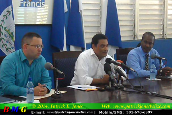 Kareem Musa, Francis Fonseca & Anthony Sylvestre, Jr (PUP Press Conference)