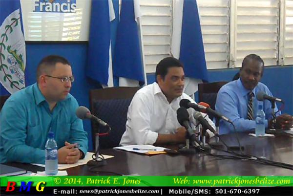 Kareem Musa, Francis Fonseca & Anthony Sylvestre, Jr (PUP Press Conference)