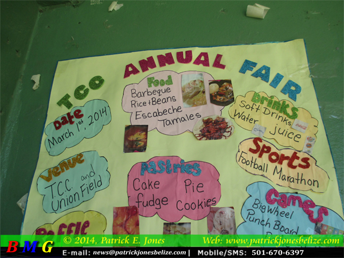 TCC Fair on March 1