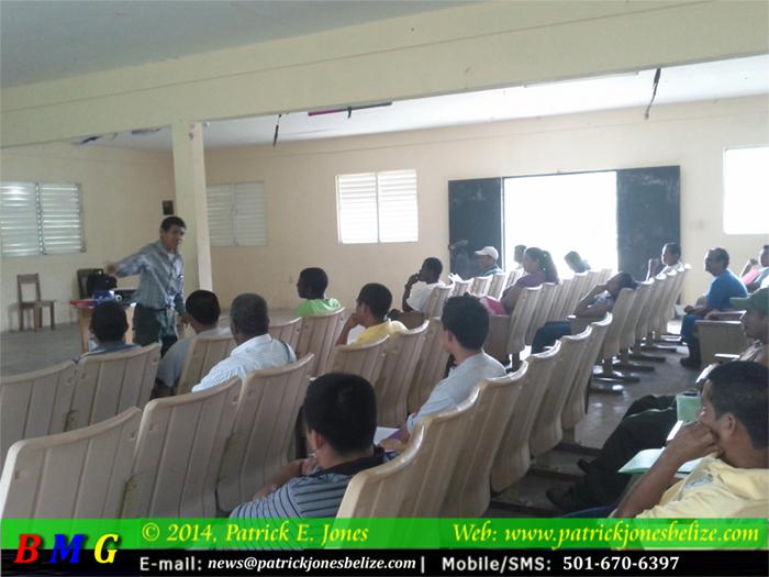 Village leaders training (Toledo district)
