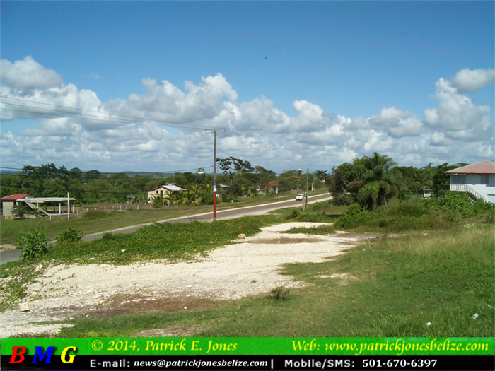 Fair weather conditions prevail (Picture taken in Georgeville, CAYO)