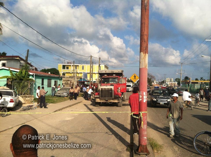 Fatal traffic accident (Cemetery Road, Belize City)