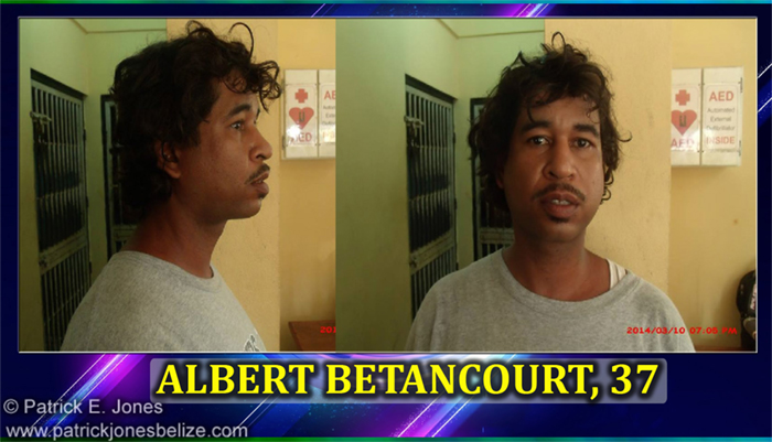 Albert Betancourt (Charged for Theft)