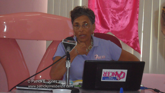 Laura Longsworth (Belize Cancer Society)