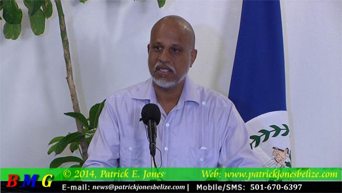 Dean Barrow (Prime Minister of Belize)