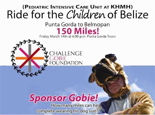 Challenge Gobie Bike Ride