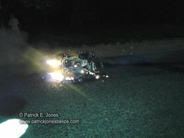 Accident Scene (Georgeville, Cayo)