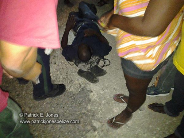 Accident victim (Georgeville, Cayo)