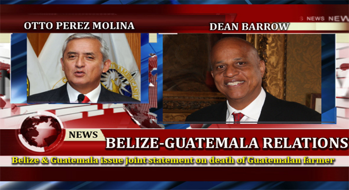 Belize & Guatemala leaders (Joint Statement issued)