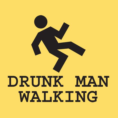 Drunk men arrested