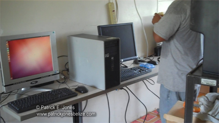 Computer donations (Corozal)