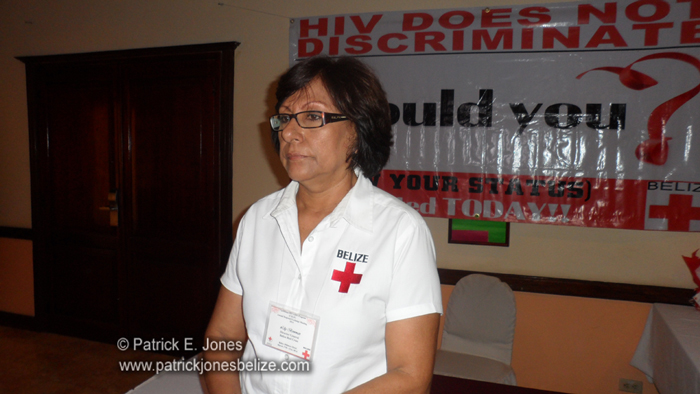 Lilly Bowman (Director General, Belize Red Cross)