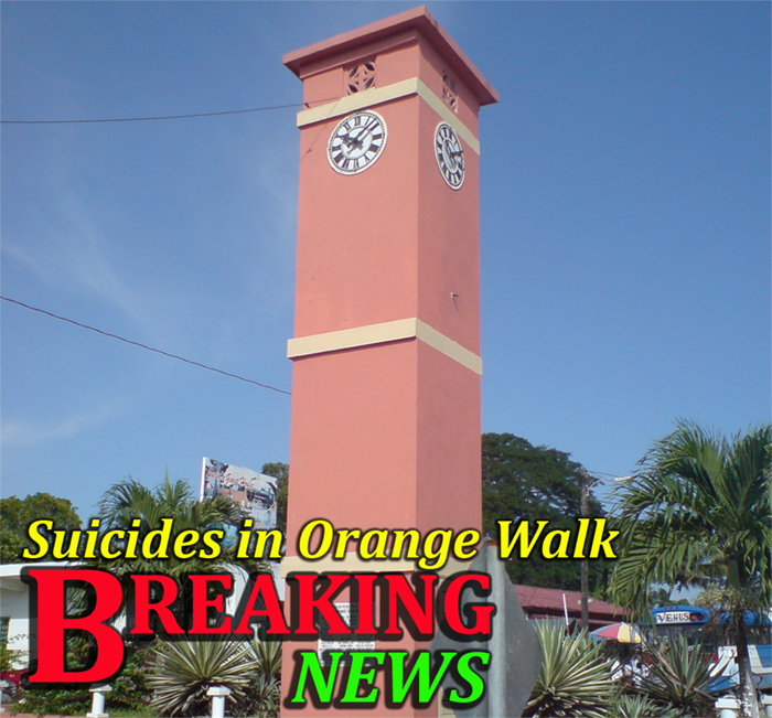 Orange Walk town clock (Orange Walk)