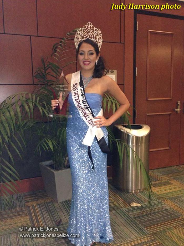 Jacinta Gomez (USF Miss International winner)