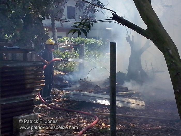 Fire in Punta Gorda