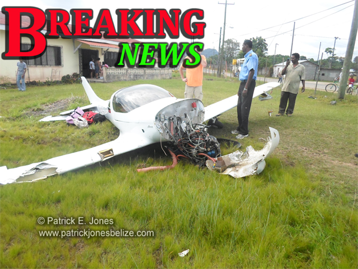 Plane crash (Punta Gordao)