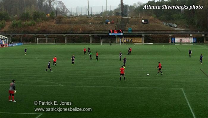 Atlanta Silverbacks game
