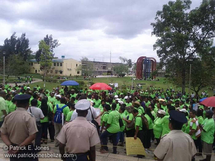 Teachers Demonstration (Belmopan)