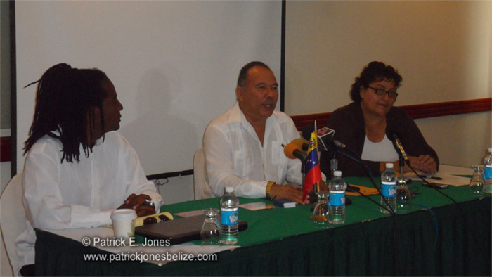 Venezuelan ambassador to Belize