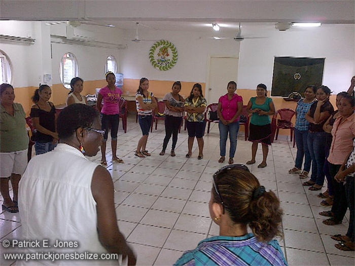 Women development training (Orange Walk)
