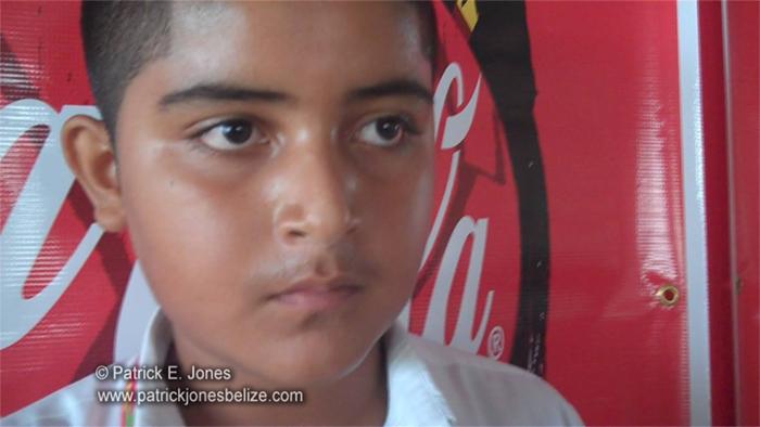 Arbaz Khan (Corozal Spelling Bee Champion)