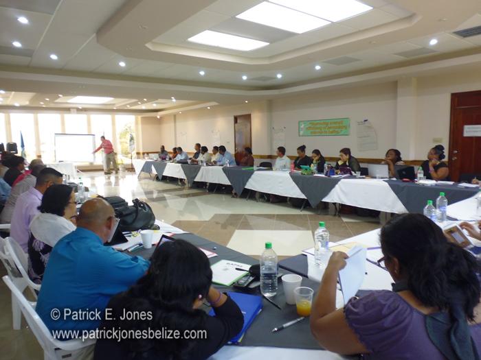 High School teachers meet (Punta Gorda town