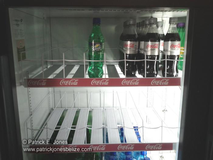 Softdrinks in short supply (Cayo District)