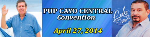 PUP Cayo Central Convention