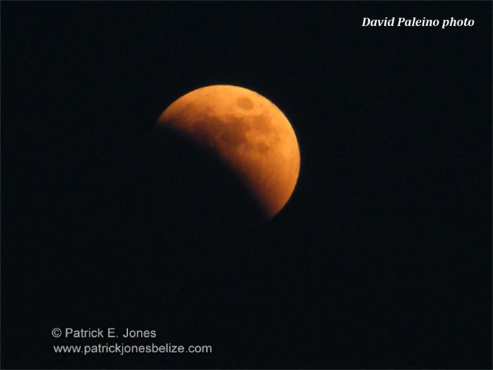 Lunar Eclipse (Photo courtesy David Palieno)