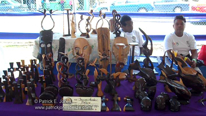 Wood carvings (Forestry & Finance Fair) BELIZE CITY