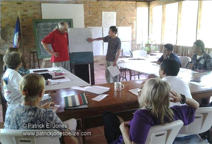 Gardeners training (Belize Botanic Gardens)