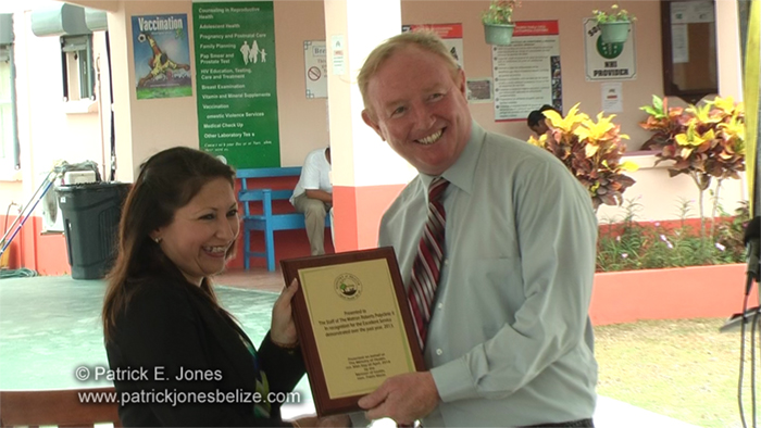 Health award (Matron Roberts Polyclinic)
