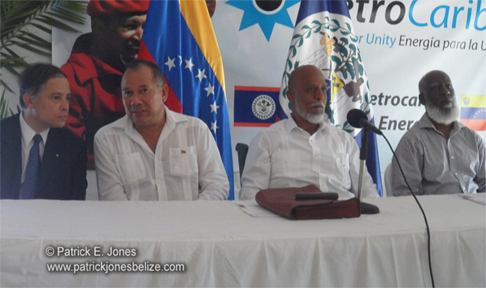 Petro-Caribe Belize office opens (Belize City)