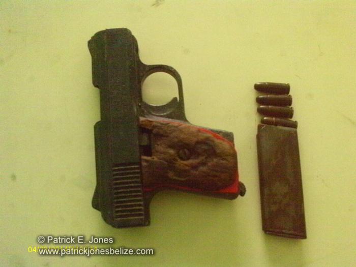 Unlicensed firearm (Placencia)