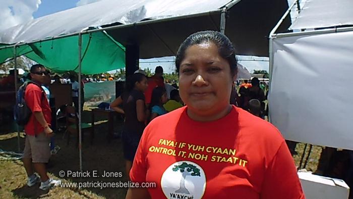 Christina Garcia (Executive Director, Ya'axché Conservation Trut)