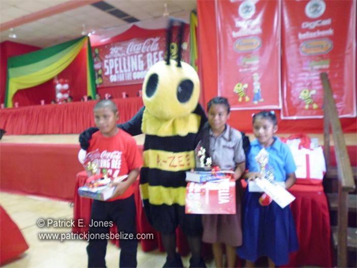 Toledo Spelling Bee winners
