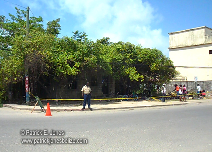 Overgrown lot (Belize City)